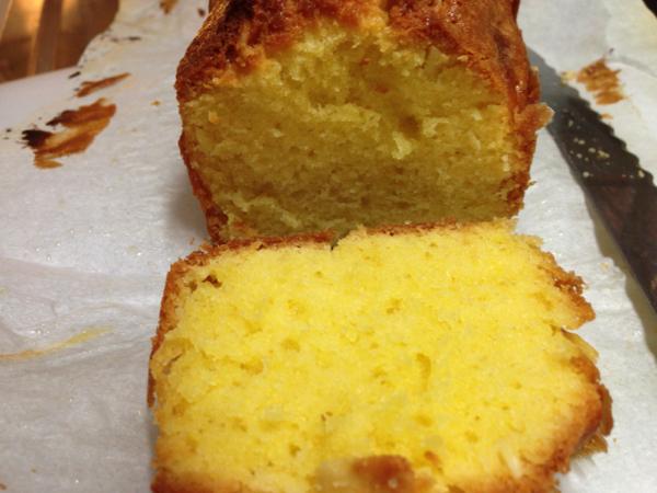 Make pound cake 3
